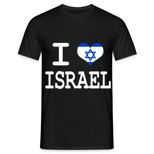 T-shirt Homme love Israel - T-shirt Homme