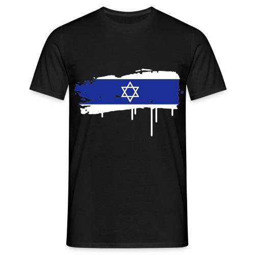 T-shirt Homme Drapeau israel - T-shirt Homme
