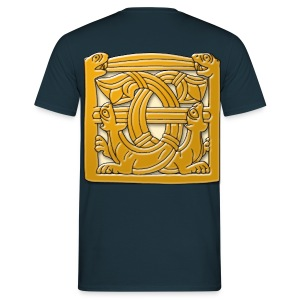 Viking Sea Cats (Front & Back) - Men's T-Shirt