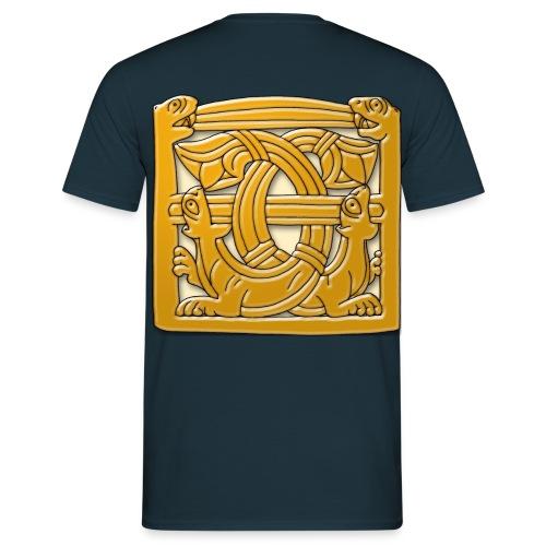Viking Sea Cats (Front & Back) - Men's T-Shirt