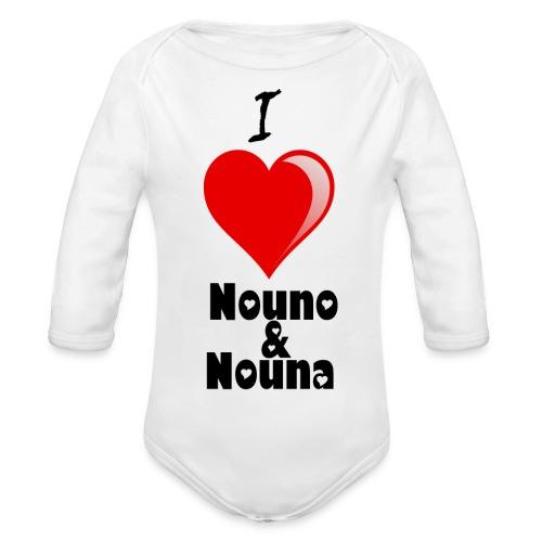 NouNa - Organic Longsleeve Baby Bodysuit
