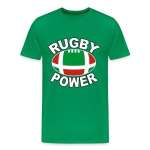 Basque rugby power - T-shirt Premium Homme