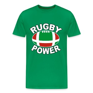 Basque rugby power - T-shirt Premium Homme
