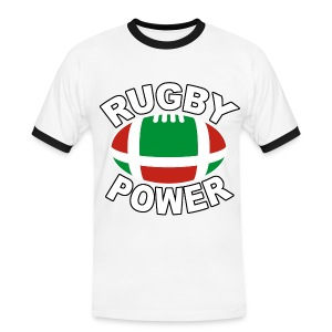 Basque rugby power - T-shirt contraste Homme