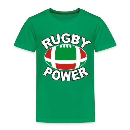 Basque rugby power - T-shirt Premium Enfant