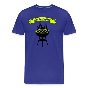 The king of the grill - T-shirt Premium Homme
