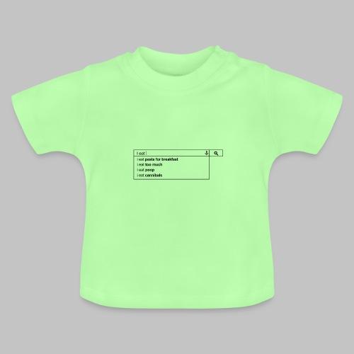 Tshirt bébé (baby) I eat - Baby T-Shirt