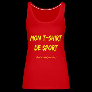 T-shirt de sport - Débardeur Premium Femme