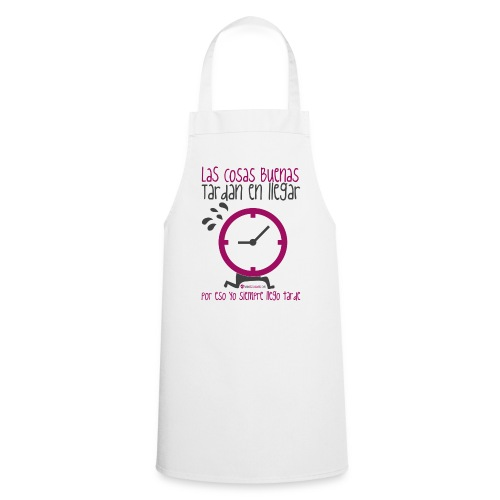 Reloj - Delantal de cocina
