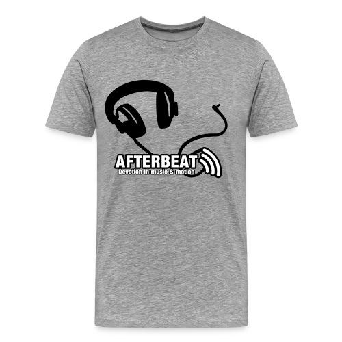 Headphone Afterbeat - Mannen Premium T-shirt