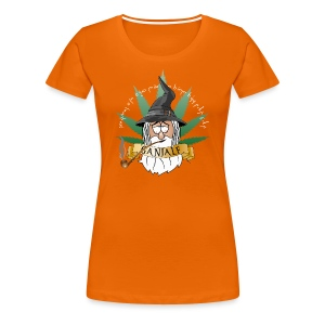 Ganjalf T-Shirts - Frauen Premium T-Shirt