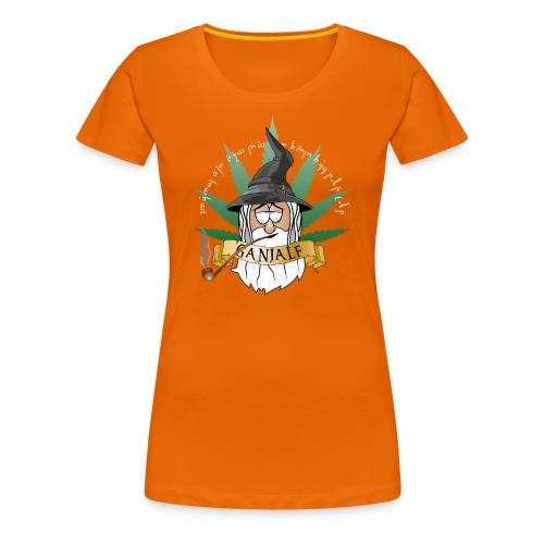 Ganjalf T-Shirts - Frauen Premium T-Shirt