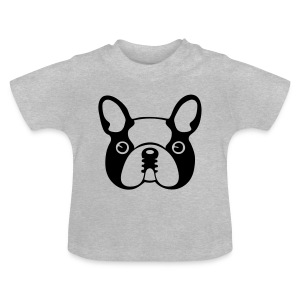 Caricature de Bouledogue - T-shirt Bébé