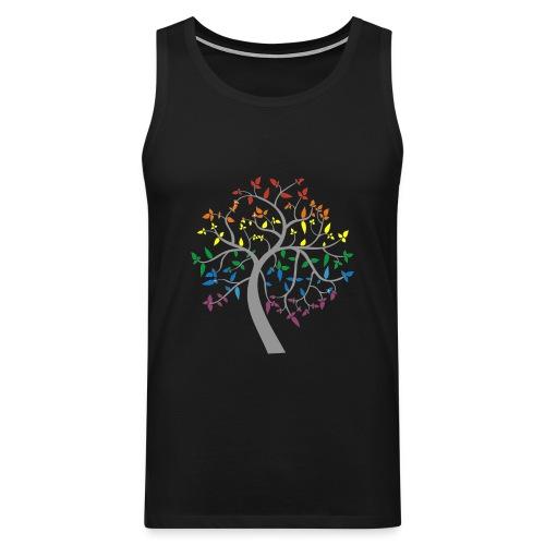 Magic Rainbow Tree - Men's Premium Tank Top