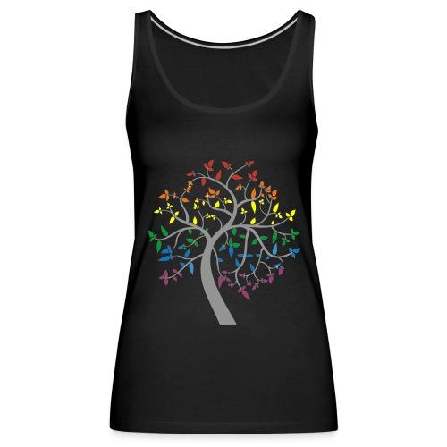 Magic Rainbow Tree - Women's Premium Tank Top
