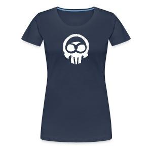 Schwabe im Kopf/weiß - Mädle - Frauen Premium T-Shirt