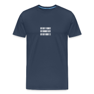 T-Shirts ~ Men's Premium T-Shirt ~ YES Binary