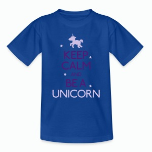 Be a Unicorn - Camiseta niño