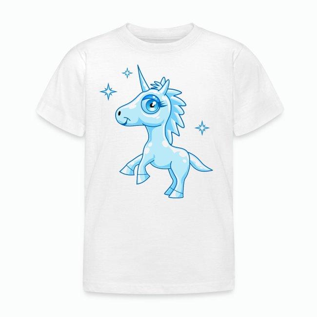 Camisetas De Hadas Y Dragones Unicornio Azul Lasten T Paita