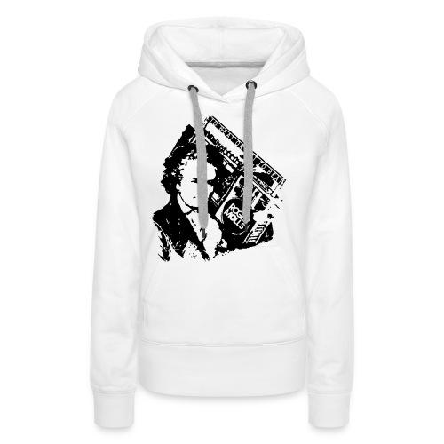 Geethoven - Sweat-shirt à capuche Premium pour femmes