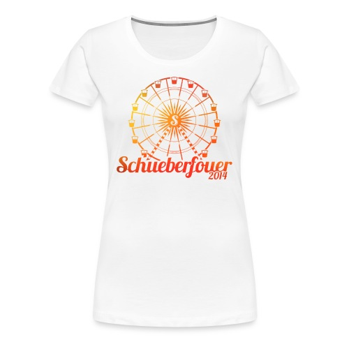 Schueberfouer (Summer deign) - Women's Premium T-Shirt