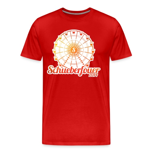 Schueberfouer 2014 (Summer design) - Men's Premium T-Shirt