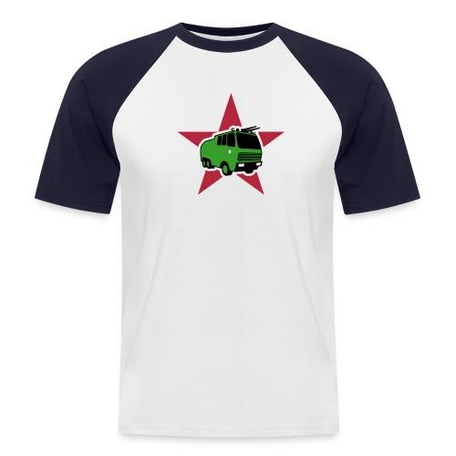 Wasserfreunde - Männer Baseball-T-Shirt
