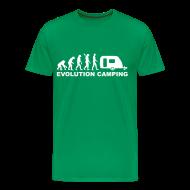 T-Shirts ~ Men's Premium T-Shirt ~ Evolution Camping