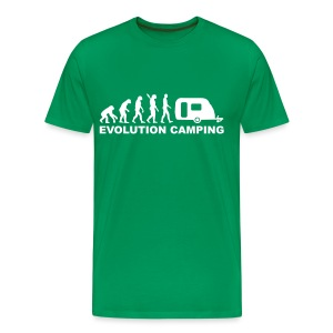 Evolution Camping - Men's Premium T-Shirt