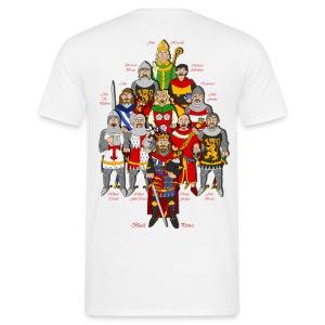 Windsor Castle (Front & Back) - Men's T-Shirt
