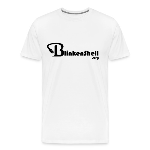 Blinkenshell-Basic - Men's Premium T-Shirt