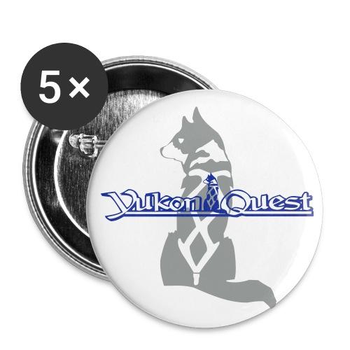 Yukon Quest Buttons - Buttons groß 56 mm (5er Pack)