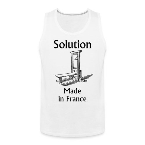 Solution Made in France Tanktop - Débardeur Premium Homme
