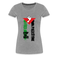 Tee shirts ~ Tee shirt Premium Femme ~ Free Palestine