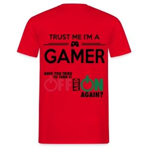 Trust Me Im a Gamer - Men's T-Shirt