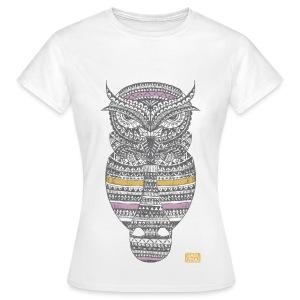 Tee-shirt Hibou - T-shirt Femme