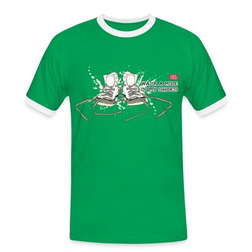 Tee-shirt Walk a Mile - T-shirt contrasté Homme