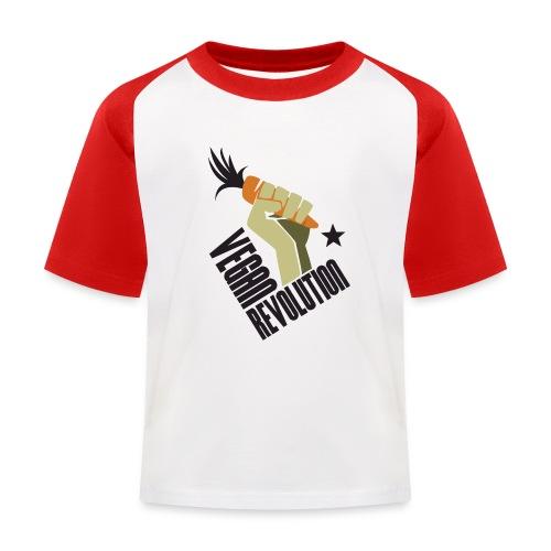 Vegan Revolution #1 - Maglietta da baseball per bambini