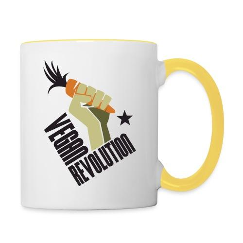 Vegan Revolution #1 - Tazze bicolor