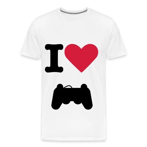 I ♥ GEEK - T-shirt Premium Homme