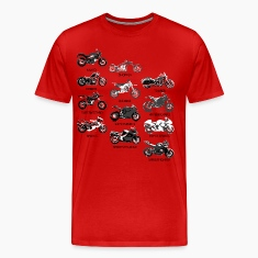 Motorcycle Styles T-Shirts