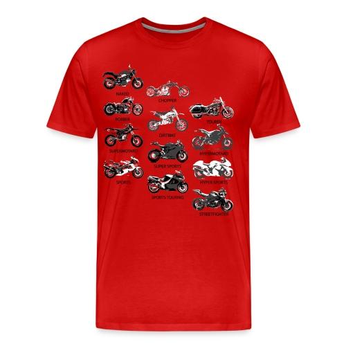 Motorcycle Styles - Men's Premium T-Shirt