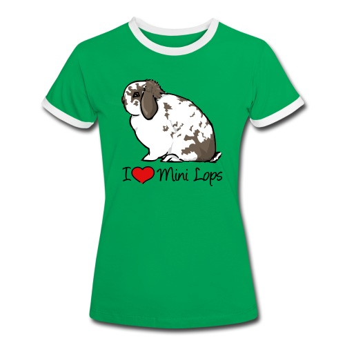Mini Lop - Women's Ringer T-Shirt