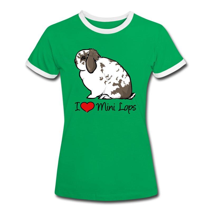 Mini Lop - Women's Ringer T-Shirt