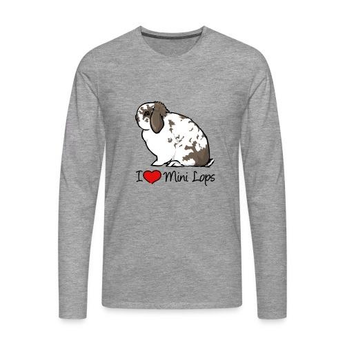 Mini Lop - Men's Premium Longsleeve Shirt