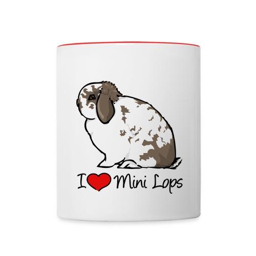 Mini Lop - Contrasting Mug