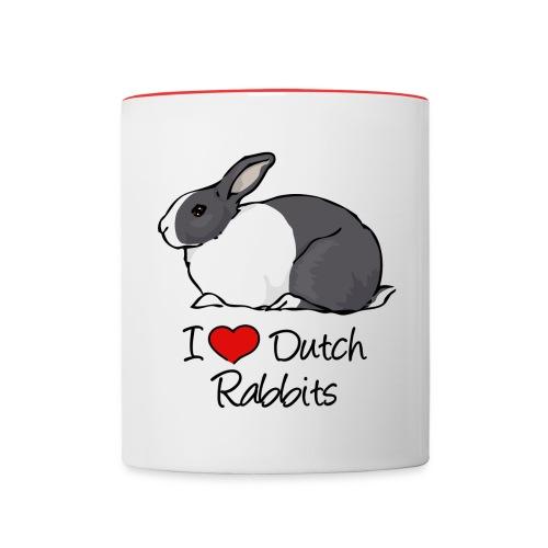Dutch Rabbit - Contrasting Mug