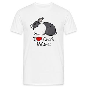 Dutch Rabbit - Men's T-Shirt