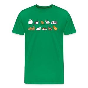 Popular Rabbit Breeds - Men's Premium T-Shirt