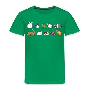 Popular Rabbit Breeds - Kids' Premium T-Shirt